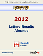 Lottery Post 2012 Lottery Results Almanac, Canada Edition